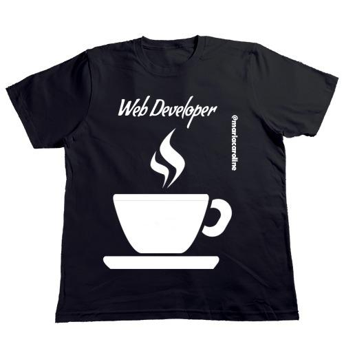 Camiseta Personalizadas @mariacaroline