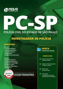Apostila Policia Civil Sao Paulo 2019 Investigador Pc Sp