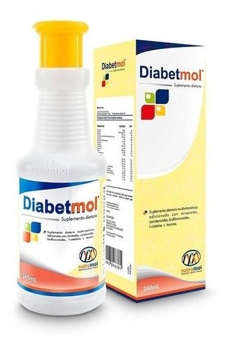 Diabetmol Jarabe 240ml. Diabetes, Hipoglicemia, Sobrepeso