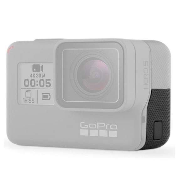 Tampa Cover Lateral Entrada Cabo Usb Gopro Hero 5 6 7 Black