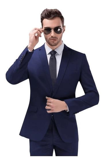 Promoção Fim De Ano Terno Slim Masculino -blazer E Calça