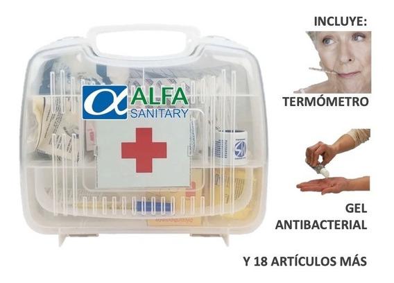 Botiquín De Primeros Auxilios Portatil C/artículos Incluidos