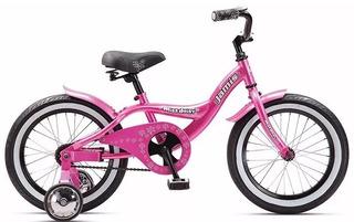Bicicleta Niños Aluminio Playera Rodado 16 Jami Miss Daisy