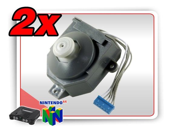 Kit 2 Analogicos Controle N64 Estilo Gamecube Version 3 - V3