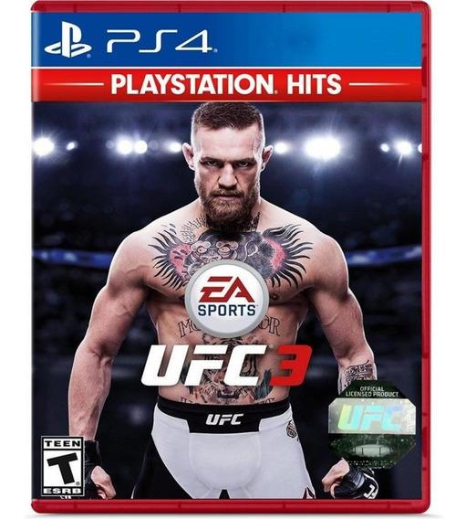 Ufc 3 Playstation Hits Ps4 Mídia Física Novo Lacrado