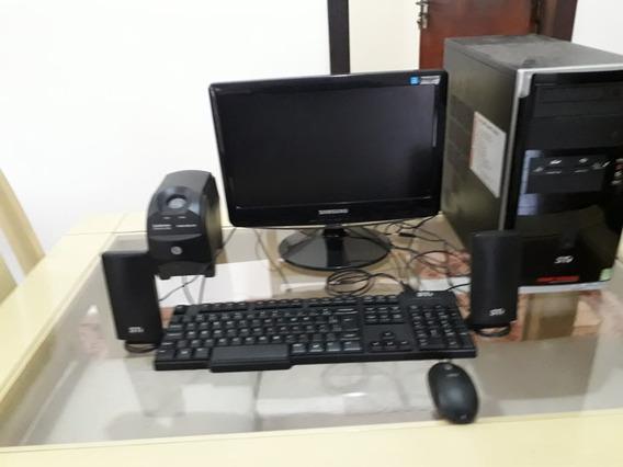 Computador Completa Celerom 2.6 Hd 500 Sata 2giga De Memoria