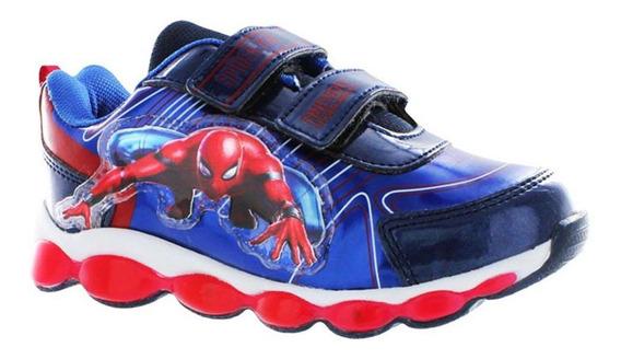 Tenis De Niño Spiderman Azul T50018
