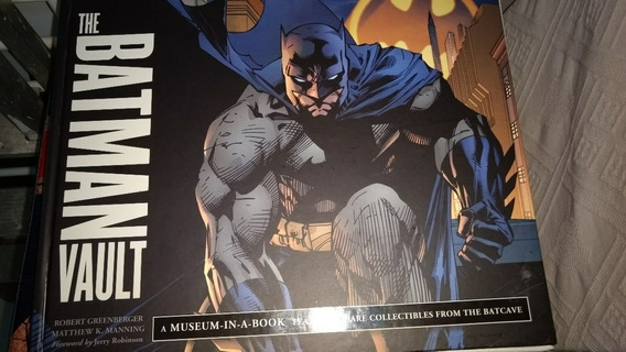 Livro The Batman Vault
