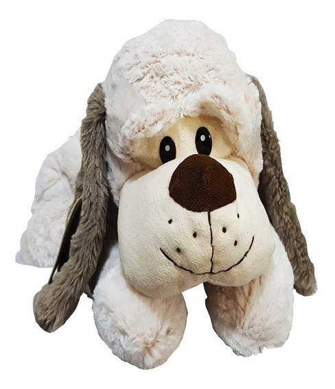 Cachorro De Pelúcia Deitado Grande Fofy Toys