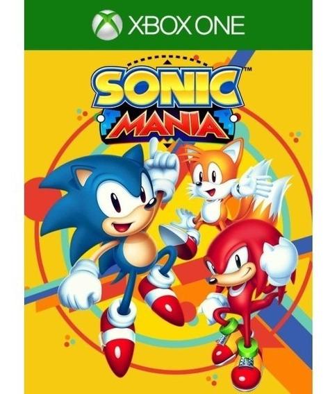 Sonic Mania Xbox One Midia Digital + 2 Jogos Brinde