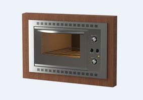 Forno Elétrico De Embutir Nardelli N450 Espelhado 45l