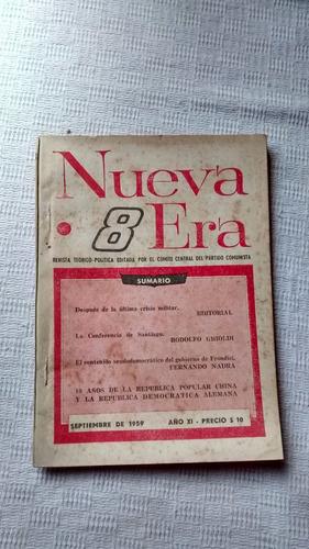 Imagen 1 de 3 de Revista Nueva Era Nº 8 - Setiembre De 1959 Año Xi Ed. Anteo