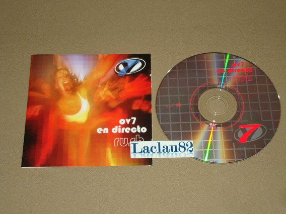 Ov7 En Directo Rush 2001 Columbia Cd Onda Vaselina