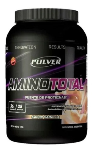 Amino Total 1 Kg Pulver Aminoácidos Bcaa Glutamina Taurina