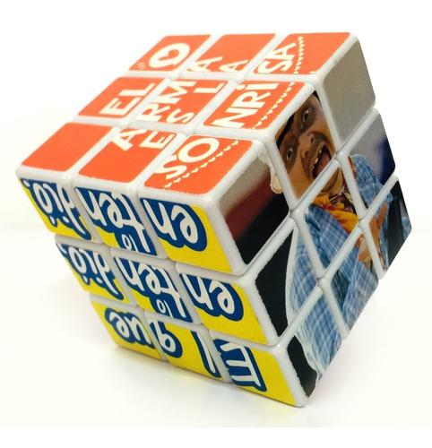 Imagen 1 de 4 de Cubo Rubik Personalizado Con Fotos