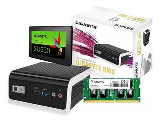 Mini Pc Gigabyte Brix Gb-blce-4105c Ssd 240gb 8gb 2400ghz