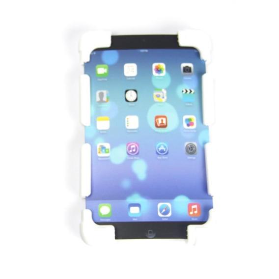 Capa Tablet Universal 7 A 8 Silicone Log Branca
