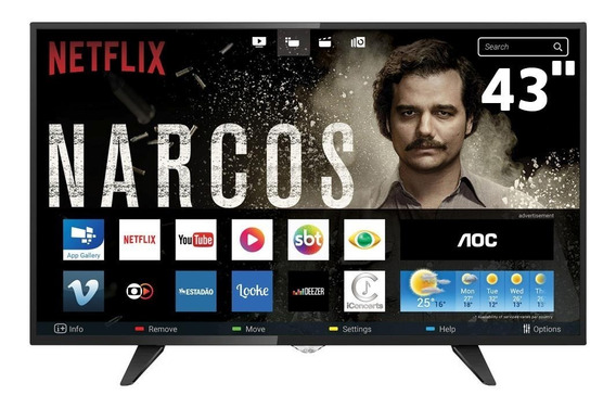 Smart Tv Led 43 Full Hd Aoc