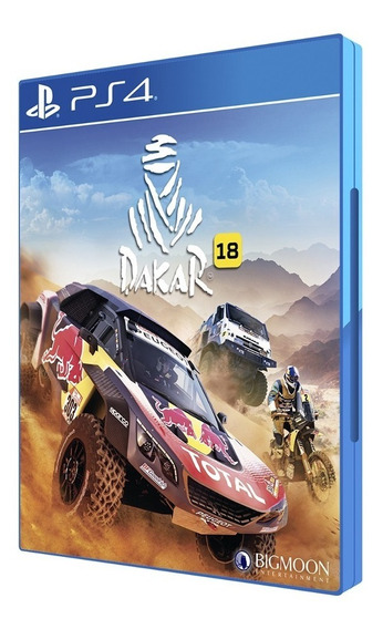 Jogo Mídia Física Dakar 18 Original Para Playstation Ps4