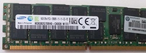 Memoria 16gb Pc3 12800r Pc3 Ecc Servidor M393b2g70bh0-ck0q9
