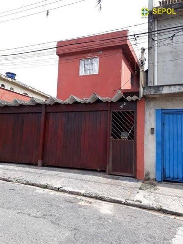 Sobrado Com 4 Dormitórios À Venda Por R$ 450.000,00 - Jardim Paraguaçu - São Paulo/sp - So0292