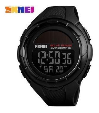 Relógio Skmei 1405 Preto Solar Eco Frete Grátis