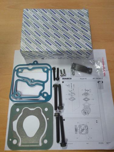 Reparación Tapa Compresor Wabco 85mm Original Mb Axor Atego