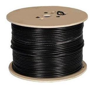 Cable Utp 100% Cu, Exterior+gel+ Mensajero, 305 Metros