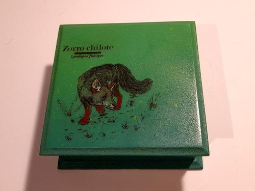 Cajas Grabadas Con Ilustraciones Únicas Fabricación Propia