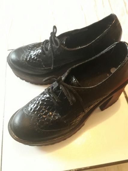 Zapatos Borcegos 36. Super Cancheros. Un Uso