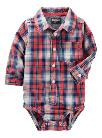 Camisa Body Bebê Oshkosh Original Bori