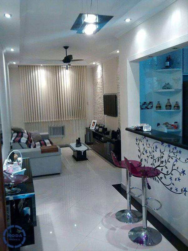 Apartamento Em São Vicente Bairro Parque Bitaru - V6074