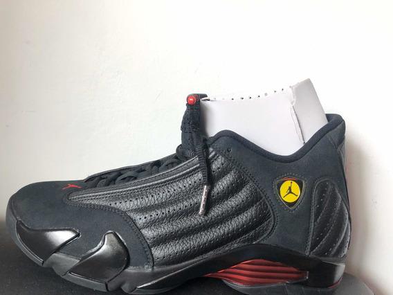 Nike Jordan Retro 14 Xiv Nuevos Originales Talla 9 Mx Negros