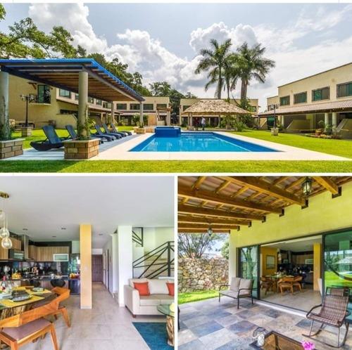 Residencial Arbolada Yautepec Casas 3 Recamaras Con Alberca