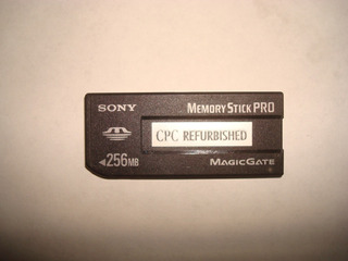 Tarjeta Memoria Sony Memory Stick 256 Mb