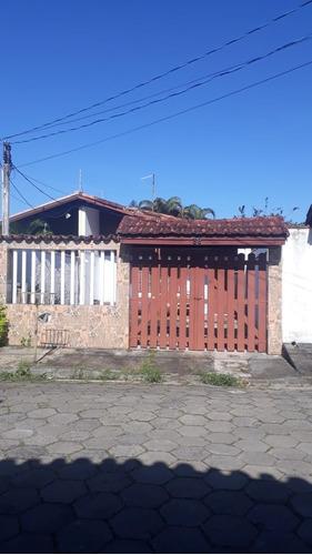 Casa Geminada 250m Do Mar Em Itanhaém - 0035-cs