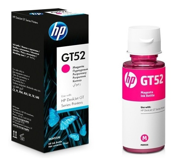 Botella De Tinta Para Impresora Hp Gt52 Gt51 Original Factur