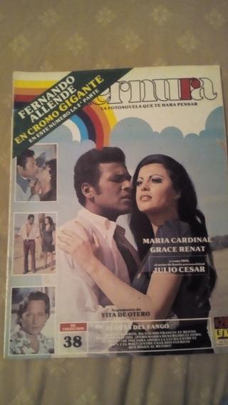 María Cardinal, Grace Renat Y Julio Cesar En Fotonovela