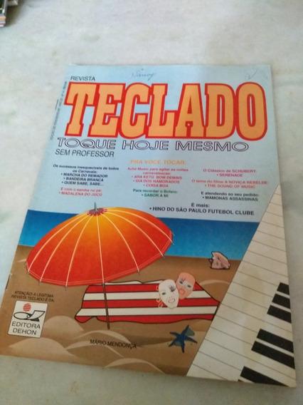 Revista Teclado Toque Hoje Mesmo Sem Professor N 16fev 1996