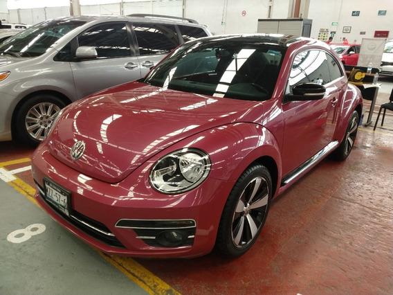 Volkswagen Beetle Pink Std 2017 46000 Km Rosa 2 Puertas
