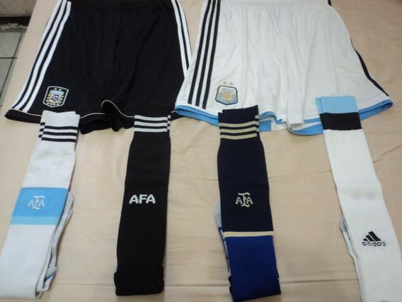 Lote Argentina Calção E Meião adidas Original