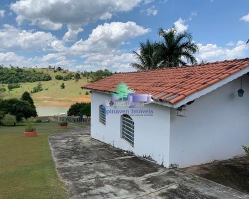 Chácara Na Represa Bragança - Pè Na Água! Acesso Privativo. - Ch00761
