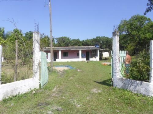 Imagem 1 de 14 de Chácara Em Itanhaém Coronel 5000 Mts Da Rodovia 3dormitorios