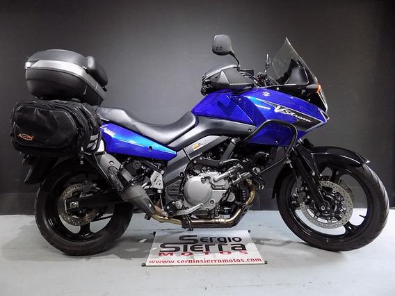 Suzuki Vstrom650 Azul 2007