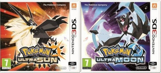 Pokemon Ultra Sol Y Ultra Luna - Nintendo 3ds, 2ds, New 3ds