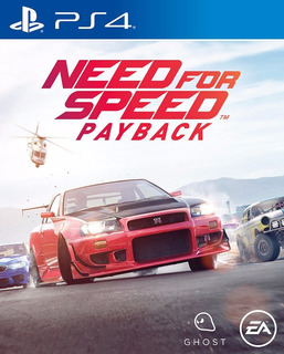 Need For Speed Payback Ps4 Digital Latino | Juga Con Tu User