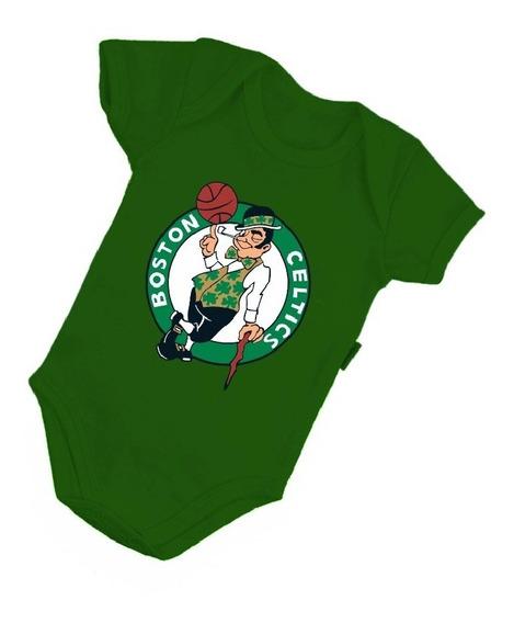 Body Bebê Boston Celtics Basquete Nba Esporte Bori B128vd