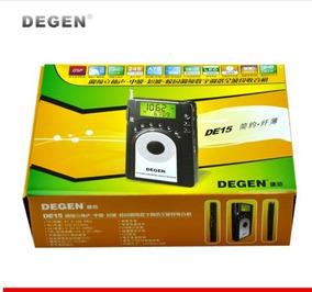 Radio Degen Fm Mw Stereo Sw Fml Lcd De15 World Banda