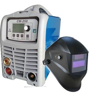 Soldadora Inverter Cm250 3 En 1 Mig-tig-mma + Mascara Cuotas