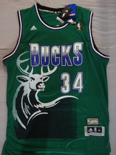 Camisa Regata Ray Allen Milwaukee Bucks